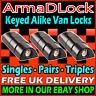 High Security Mul-T-Lock ArmaDLock Van Rear & Side Doors Hasp Dead Arma D Locks