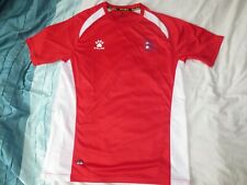 Nepal very rare football shirt soccer jersey Kelme large red with shorts