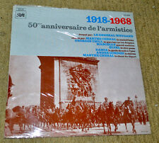 sealed WWI LP 1918 1968 Armistice Anniversary Pathe Gen Weygand World War One 1