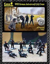Caesar Miniatures 089-Segunda Guerra Mundial alemán anti aviones tripulaciones 1:72 figuras