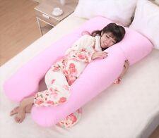 Large U Shaped Contoured Body Pregnancy Nursing Maternity Bed Pillow