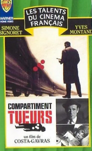 CASSETTE VIDEO VHS - COMPARTIMENT TUEURS / GAVRAS, SIGNORET, MONTAND, WARNER