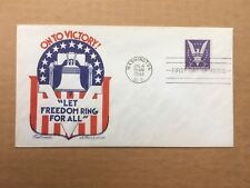 1942 WWII 3c WIN THE WAR 905 Fleetwood FDC (see description)