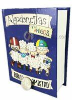 BIBLIA PARA NINOS REINA VALERA 1960 ALGODONCITAS TAPA DURA BOLSILLO OVEJITAS