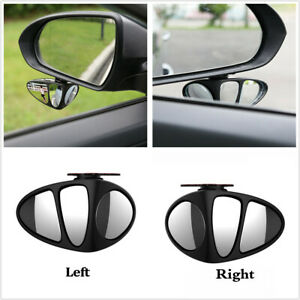 Universal 2PCS Wide Angle Rear Side View Blind Spot Mirror 360° for Car SUV