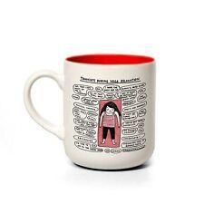 TAZZA in ceramica in scatola. Yoga, Gemma Correll. Tè/Caffè Coppa. HOME. regalo. CARLINO. divertente tazza