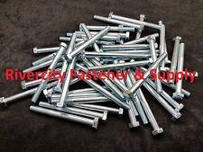 (5) M12-1.25x130mm Bolt / Hex Head Cap Screw Grade 10.9 12mm x 130mm Fine Thread
