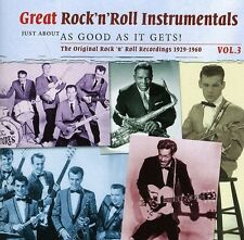 Great Rock 'N' Roll - Vol. 3-Great Rock 'N' Roll Instrumentals [New CD]