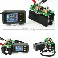 0-400V 300A DC Wireless Voltmeter Ammeter Power Meter Charge discharge capacity