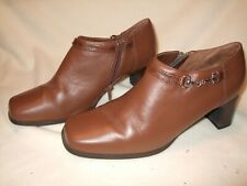 AJ Valenci Womens Made for Comfort Clog Slide On Shoe  Size 8 M BROWN