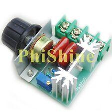 Adjustable 2000W AC Motor Speed Control Controller Voltage Regulator 50-220V