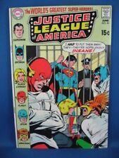 Justice League of America #81 (Jun 1970, Dc) Vf