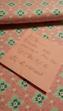 💕 Jersey Stoff Neu Blumen Blüten Rosa Mädchen Mint 👗💐