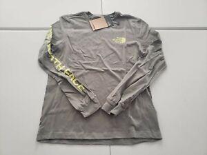 North Face Women's Long Sleeve Simple Logo T Shirt NWT 2021