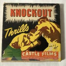 Knockout Thrills 8mm Castle Films.  1940's Boxing