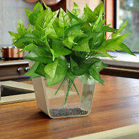 Artificial Plants Indoor Outdoor Fake Leaf Foliage Bush Home Office Garden 2017