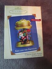 Hallmark Keepsake Ornament, Collector's Series, Kris and the Kringles