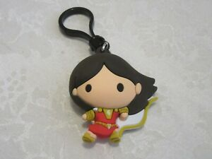 Monogram Figural DC Movie Shazam Mary Bag Clip Keyring Keychain