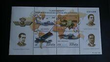 SELLOS ESPAÑA MNH 2001 HB 75 ANIVERSARIO AVIACIÓN ESPAÑOLA