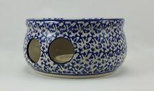 Bunzlauer Keramik Stövchen für Teekanne 1,3Liter, Teelicht, ø16cm (P089-P364)