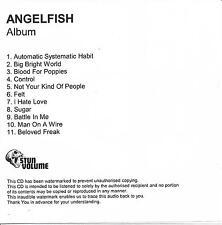 ANGELFISH Album UK 11-trk watermarked promo test CD Shirley Manson Garbage