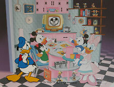 """MGM Disney Studios Hand Painted Cel of Donald Duck in """"Prime Time Donald"""""""