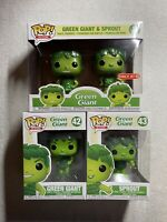 Ad Icons Funko Pop Bundle; Green Giant #42, Sprout #43 & Target Exclusive 2-pack