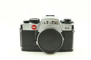Leica R4 35mm SLR Film Camera Body Only Silver -  BB 700-