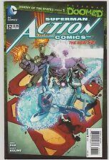 DC COMICS ACTION COMICS #32 AUGUST 2014 NEW 52 SUPERMAN DOOMED 1ST PRINT NM