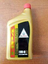 Honda Gold HP4 Synthetic Petroleum Premium Blend 10W-40 Quart Oil Motorcycle ATV