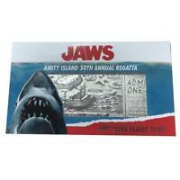 Jaws amity island 50th Annual Regatta Replica Silver Plated Ticket Limited