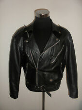 vintage italy Motorradjacke Lederjacke bikerjacke oldschool leather jacket M