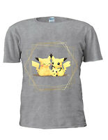 Pokemon Pikachu Pichu Inspired T Shirt Men Women Unisex Trendy Tshirt M381