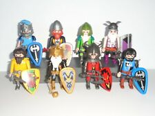 PLAYMOBIL - 8 MIXED KNIGHTS  WITH ACCESSORIES