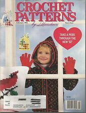 Crochet Patterns by Herrschners - February 1992 - Volume 6, Number 1