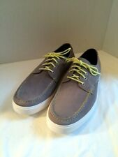Cole Haan Bergen Moc Oxford Gray Suede Oxfords Shoes C11536 Mens Size 9.5 M