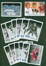 2012-13 UPPER DECK HOCKEY HEROES 1970's COMPLETE SET HH27-HH38 + NNO/SP GRETZKY