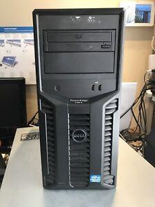 Dell Server Poweredge T110 II Xeon Quadcore E3-1220 V2 16 Gb 300go Perc H200 SAS Riconfezionato Certificato