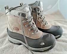North Face Snow Boots Size 8-1/2 Primaloft Barely Worn
