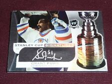 08-09 The Cup Grant Fuhr 40/50 Stanley Cup Signatures Autograph AUTO