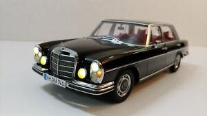 1/18 Autoart Mercedes-Benz 300SEL (Black color) LED modify by MBW