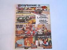 1962 LIONEL TRAIN CATALOG - LARGE STOCK HO EQUIPMENT SALES CATALOG - BOX C