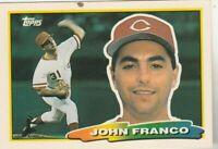 FREE SHIPPING-MINT-1988 Topps Big #232 John Franco Cincinnati Reds +BONUS CARDS