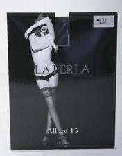d6c36820b La Perla ~ ALLURE 15 ~ lace top hold ups stockings BNWT small black 15  denier