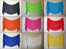 Wholesale Lot of 15 High Quality Handmade Belly Dance Veil Wrap Tribal Costume