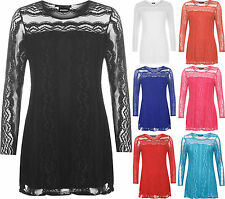 Nylon Stretch Casual Plus Size Tops & Shirts for Women