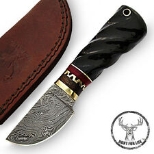 Hunt For Life™ Hunters Philosophy Skinning Hunting Knife