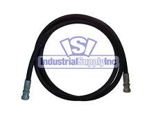 """3/8"""" x 48"""" 2-Wire Hydraulic Hose Assembly w/Female JIC"""
