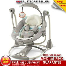 Baby Bouncer Vibration Chair Portable Musical Cradle  Swing Seat Music Relaxing
