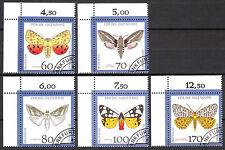 BRD 1992 Mi. Nr. 1602-1606 gestempelt Eckrand 1 TOP!!! (9290)